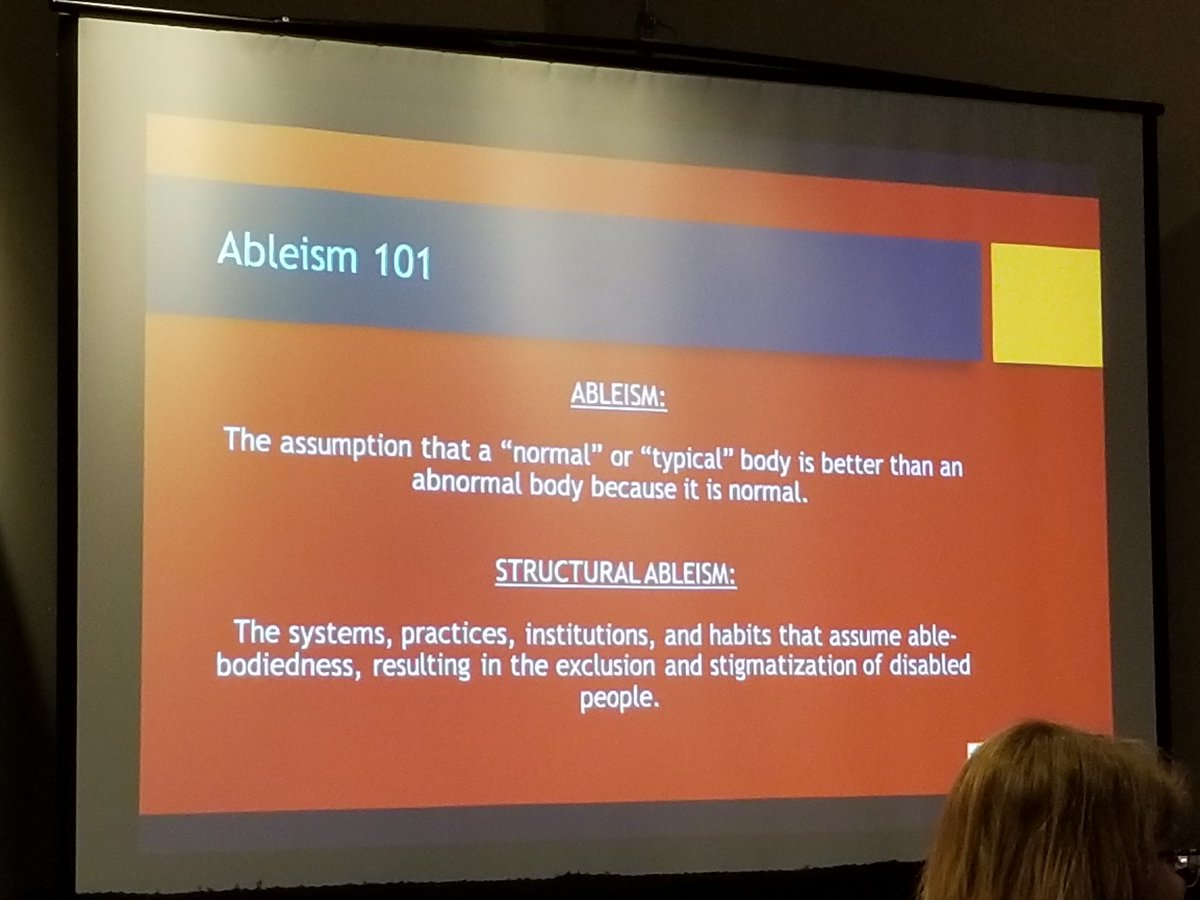 About #ableism <br>http://pic.twitter.com/iFXjnffcw8