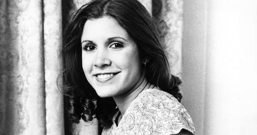 Happy Birthday Carrie Fisher! We love you, we miss you!
