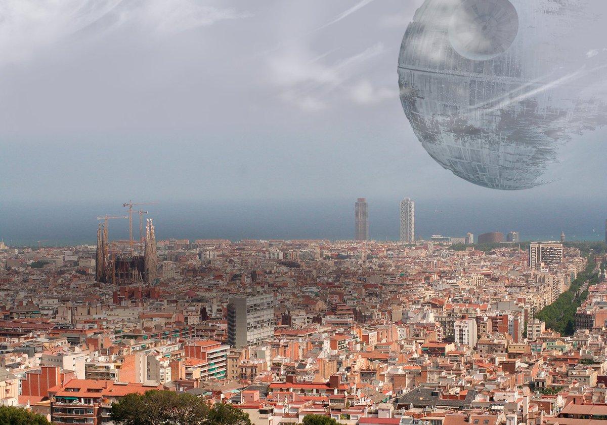 El Gobierno envía la Estrella de la Muerte a Cataluña https://t.co/9WwosEAfha