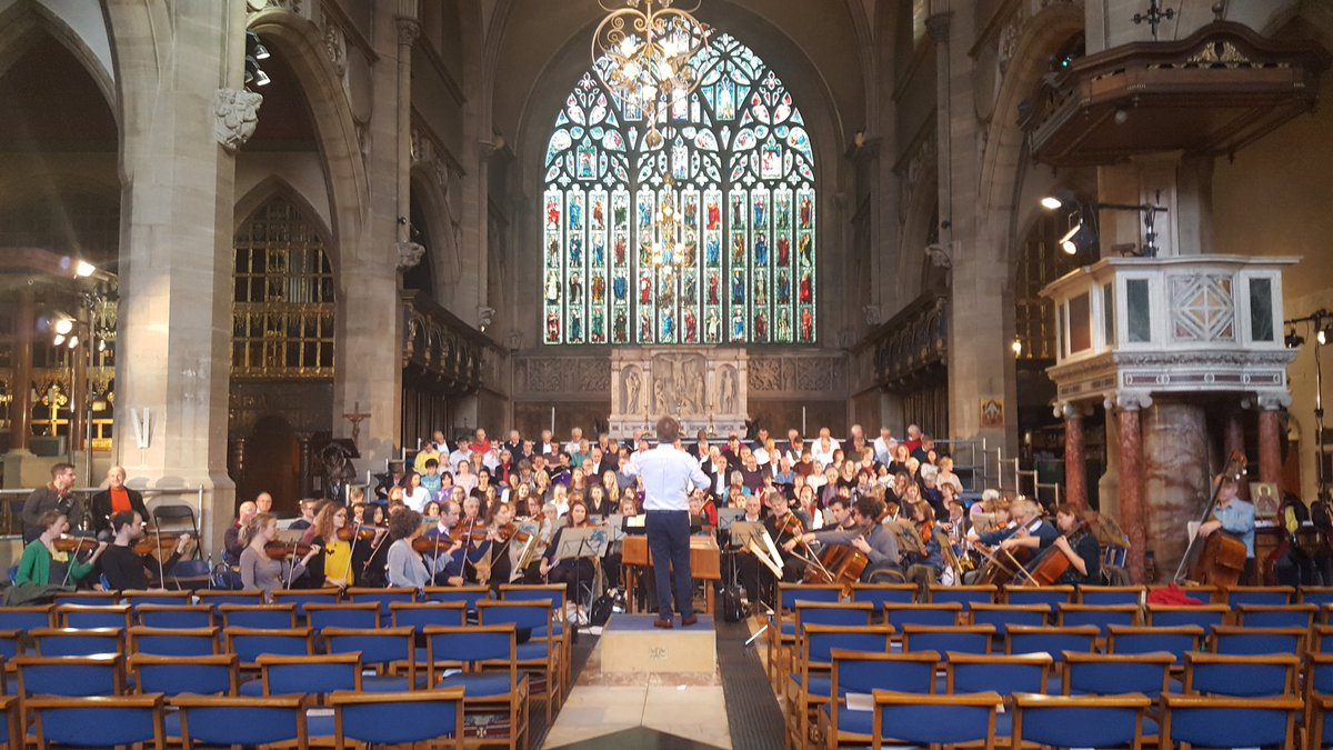Here we go...! #haydn #creation with the @royalchoral at @SloaneChurch 7 30pm tonight!<br>http://pic.twitter.com/PwHyWk9oRT