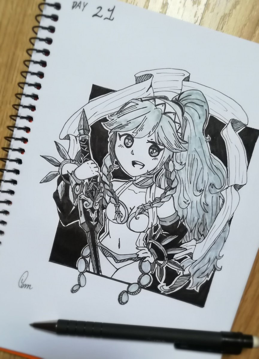 OLIVIA   Day 21 of Inktober, This time is Olivia from Fire Emblem  @TheArtBond |@dibujando |#Inktober |#inktober2017 |#FE|#FIREEMBLEM<br>http://pic.twitter.com/UKbY0clTnC