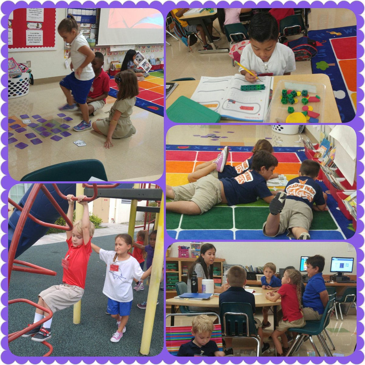 In K we work out our brain muscles &amp; our upper body muscles. #pullups #smallgroups #engagement @MeadowParkEl @hainesv @marjie_rowe<br>http://pic.twitter.com/VtHMcyURK4
