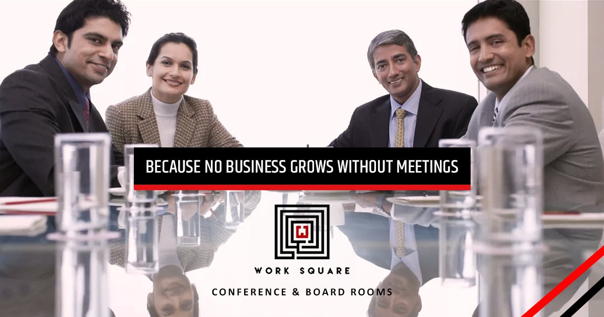 #Internal #meeting or a #client #encounter, #conference rooms are #perfect place to #conduct your #rendezvous. Visit  http://www. worksquare.in  &nbsp;  <br>http://pic.twitter.com/tkVsNyfLeB