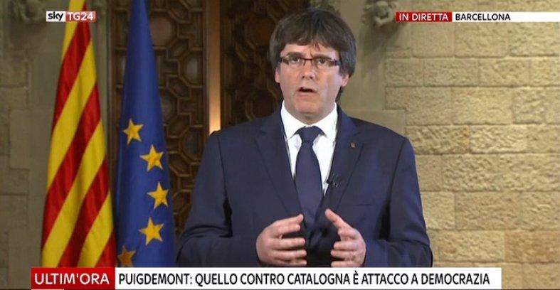 #UltimOra #Puigdemont: quello contro #Catalogna è attacco alla democrazia #canale50 https://t.co/0kxapzvQk0