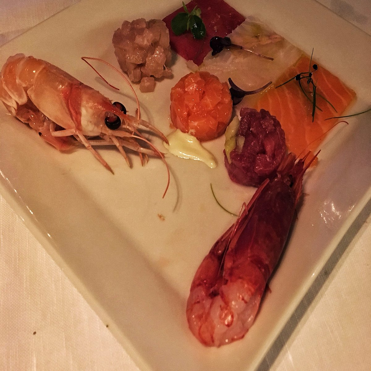 Seafood, eat food - crudo Pierluigi is little rock pool of Rome pleasure, as served at the late, great fish resto Pierluigi. Now to dive in!