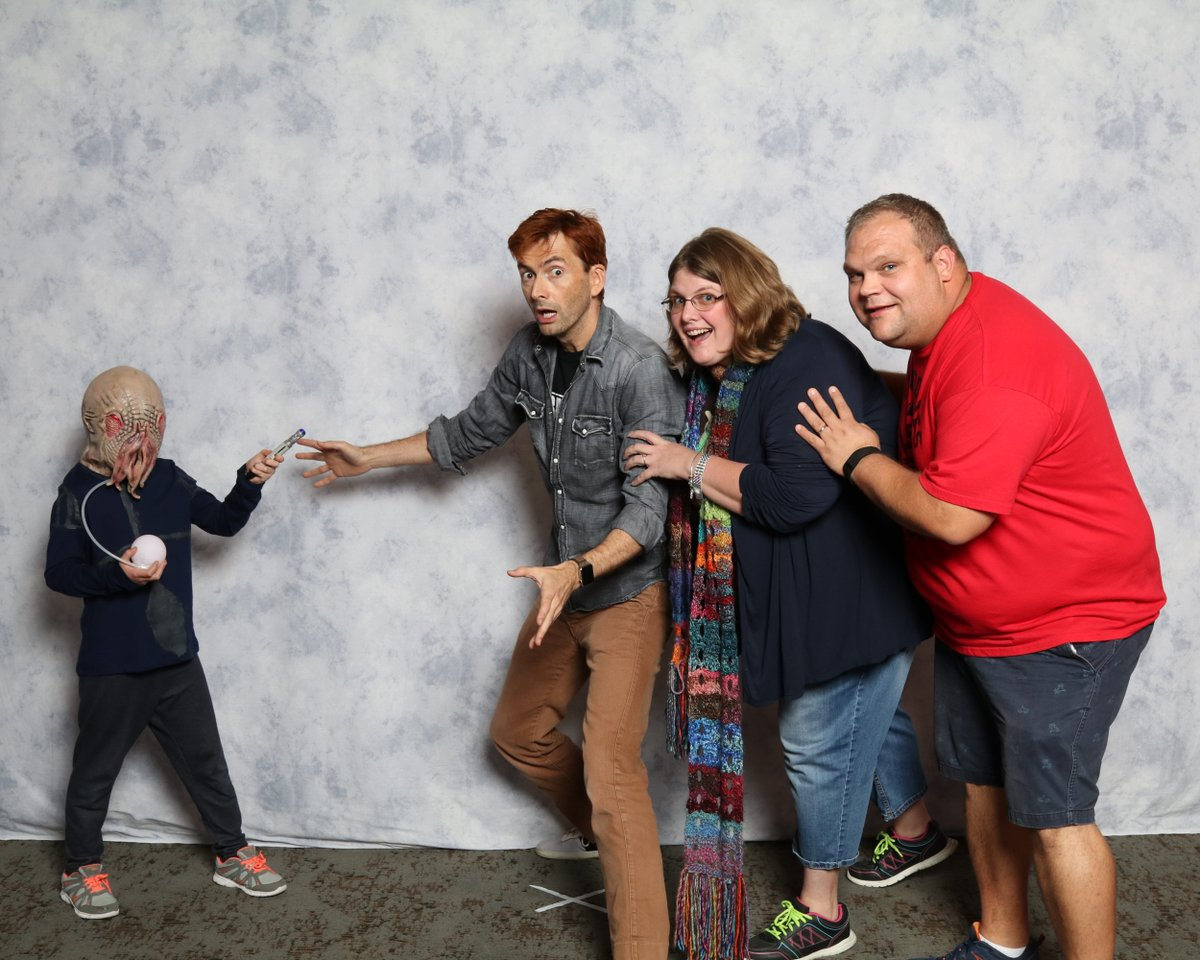 David Tennant at Dallas Fan Days fan convention - Saturday 21st October 2017