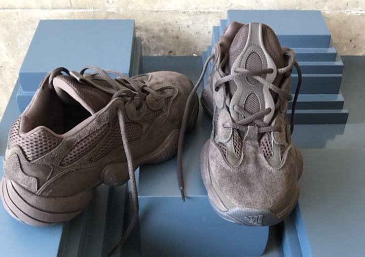 Cop or drop for the #Yeezy 500 Runner 'Desert Rat'    https:// thesolesupplier.co.uk/news/first-loo k-at-the-adidas-yeezy-500-runner-desert-rat/ &nbsp; … <br>http://pic.twitter.com/WoMnLByxZZ