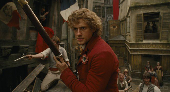 New happy birthday shot What movie is it? 5 min to answer! (5 points) [Aaron Tveit, 34]