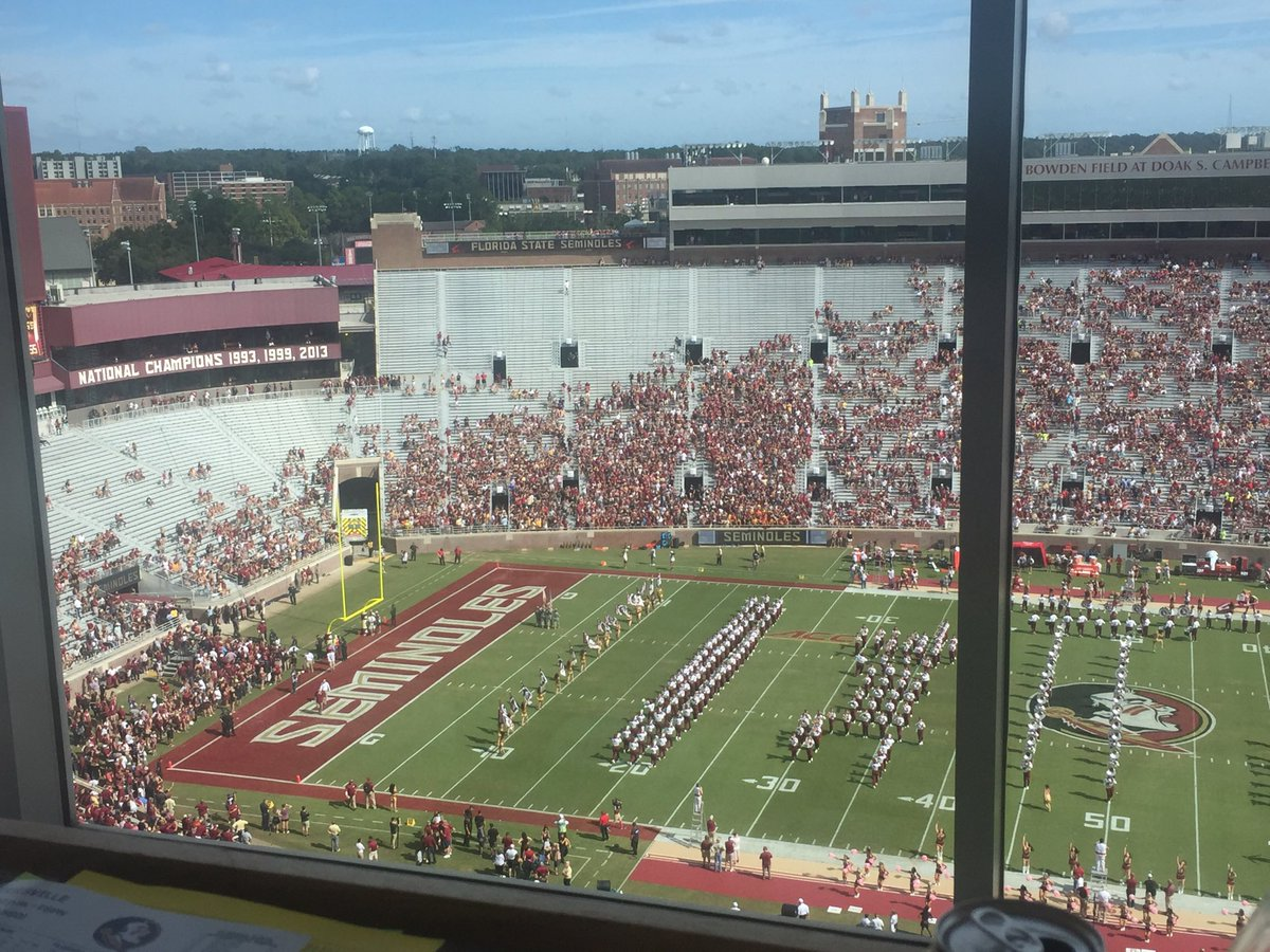 This is what losing gets you. A noon kick and thousands of empty seats at Doak for #FSU vs #Louisville https://t.co/PDN8Ap5jd8