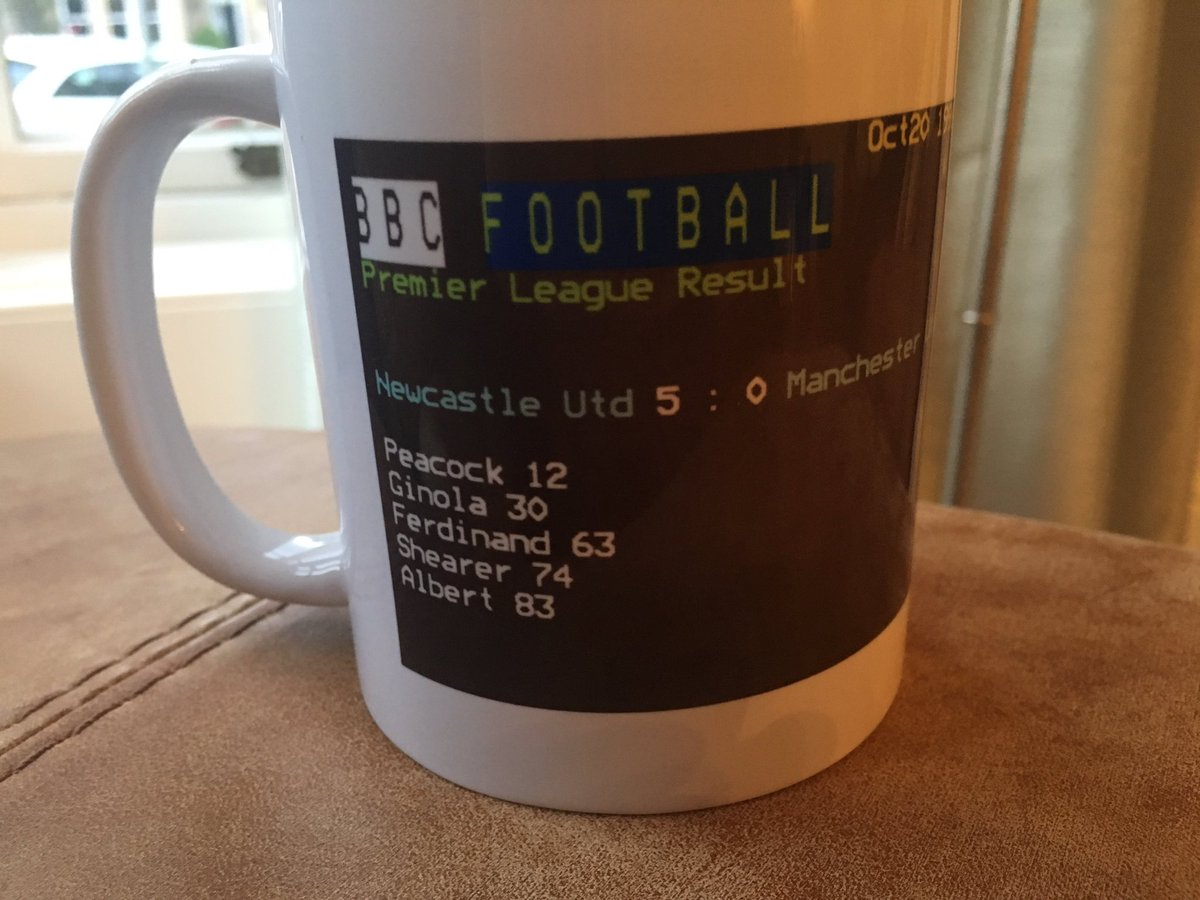 Belated birthday present from the wife. Timing! #21years #nufc https:/...