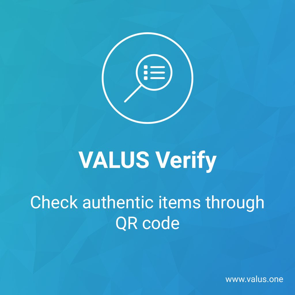 [#VALUS Verify] Our main #IDEA and product. Cant wait to see it in action!#Blockchain... by #StartUpRealTime<br>http://pic.twitter.com/QMFO3jaogk