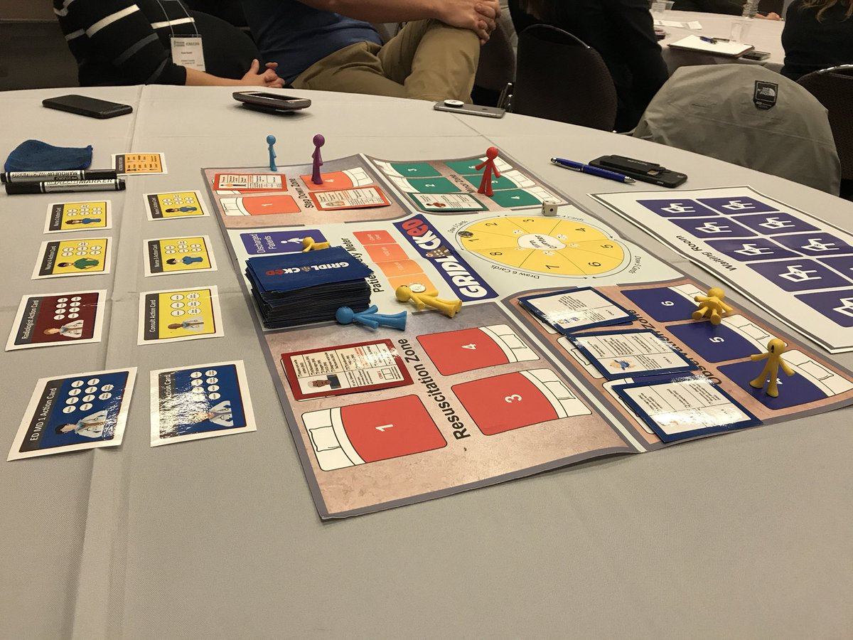 Game developed by Tsoy+ @TChanMD to appreciate ER flow #ICRE2017 Have to admit it's how I spent Wed night #meded nerd #whatworks<br>http://pic.twitter.com/bFeu4XkHbe