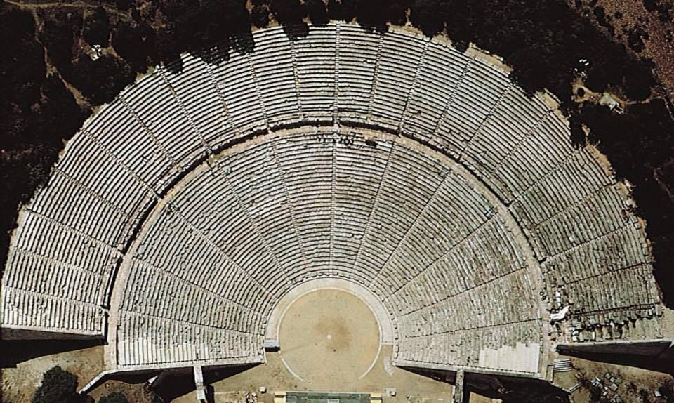 The ancient theatre of Epidaurus, Greece #architecture   https:// buff.ly/2yD8Yf9  &nbsp;  <br>http://pic.twitter.com/aSI4JKmNUH