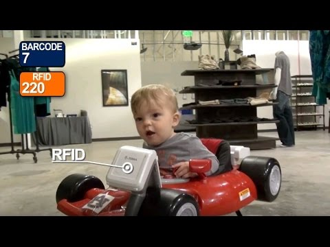 In this video, watch a baby with a #RFID scanner go head-to-head with a traditional barcode scanner.  https:// hubs.ly/H08Y8Q40  &nbsp;  <br>http://pic.twitter.com/qd949ojuIA