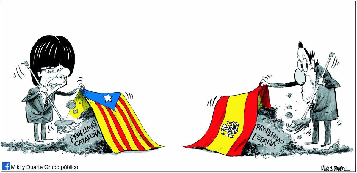 Resultado de imagen de conflicto catalan