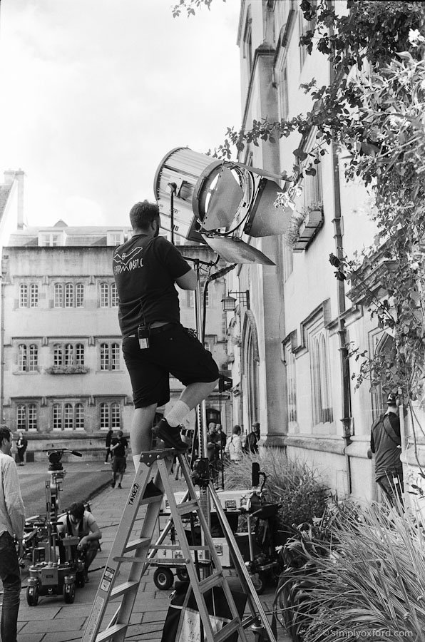 New #Endeavour blog post from filming on episode 4 in August:  http://www. simplyoxford.com/?p=3922  &nbsp;   #Leica M6, @ILFORDPhoto FP4 #film<br>http://pic.twitter.com/hZBtXr7c0t