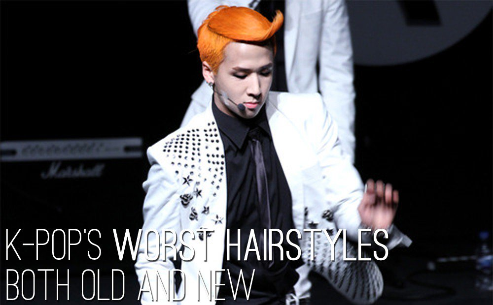 K-Pop's worst hairstyles both old and ne...