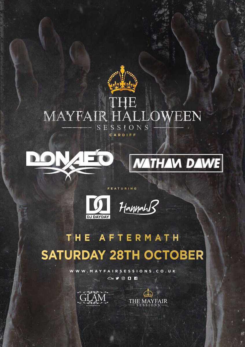 The after math!  @MayfairSessions all roads in Cardiff lead here next Saturday @donaeo @NathanDawe @DJHannahB @GLAM_FRESHERS