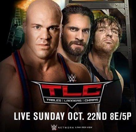 #TheShield is now #TeamAngle! Oh it's true. . .it's damn true! #WWETLC...