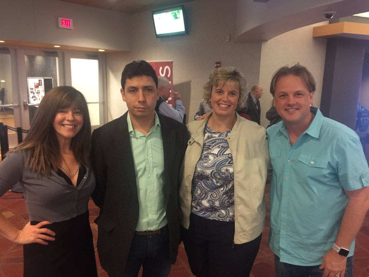 Here at the @TCFilmFest w/ friends, colleagues to help highlight #addiction, #recovery, #advocacy. #tcff2017 #tcff<br>http://pic.twitter.com/wyODH6VPPJ