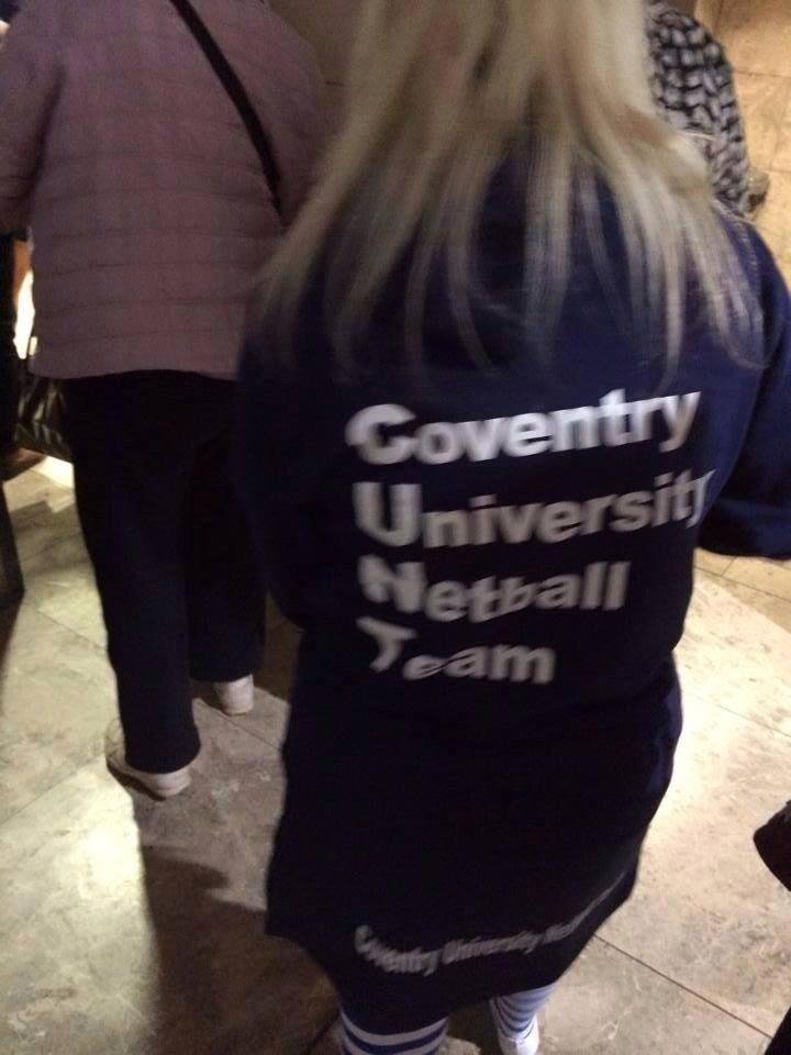 You're in a netball team, and you're at Coventry University. What's the one name you can't use? https://t.co/L8ZSO3BnOT