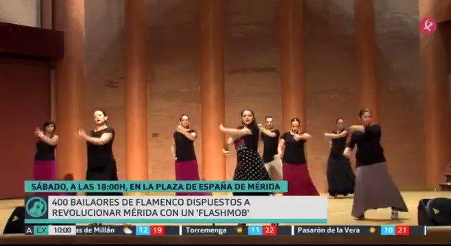 Hoy en #EXN2📺 no nos perdemos ninguna de estas citas: ➡️#MarchaRosa en @Ayto_Plasencia @AOEXPlasencia ➡️Flashmob flamenco en @ayto_merida https://t.co/LsIs33NgLd