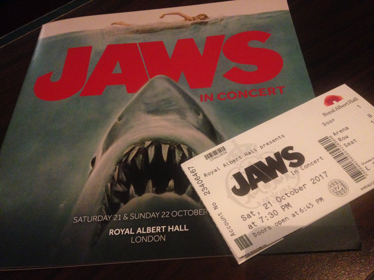Rig another barrel, I&#39;m coming around again! #JawsInConcert @RoyalAlbertHall #Jaws #TheDailyJaws<br>http://pic.twitter.com/BVfxqz6Vgz