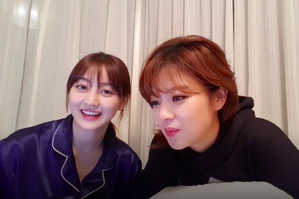 #TWICE's Jihyo and Jungyeon reveal more...