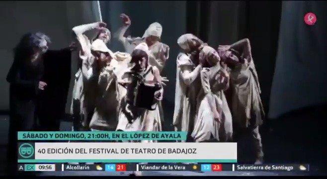 Este fin de semana, teatro: 🎭Festival Teatro ➡️ Badajoz 🎭El Contador del Amor ➡️ Cáceres 🎭