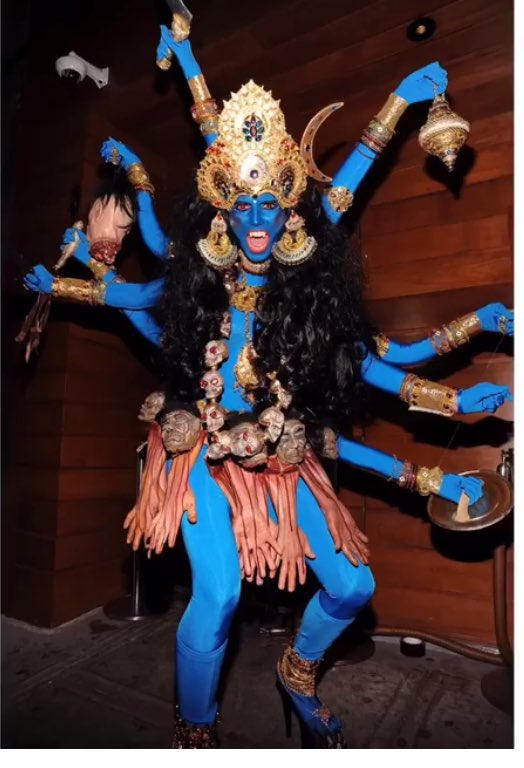 Heidi Klum Halloween Shiva.𝐦𝐚𝐧𝐢𝐬𝐡𝐚 𝐤𝐫𝐢𝐬𝐡𝐧𝐚𝐧 On Twitter So Heidi Klum Was
