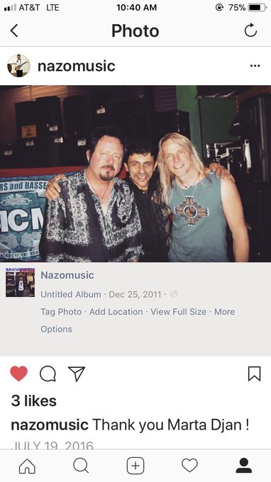 Happy Birthday Steve Lukather Love You Brother  Thank you