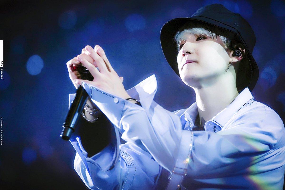 171021 대만콘서트   슙나잇💙  #방탄소년단#BTS#슈가 #S...