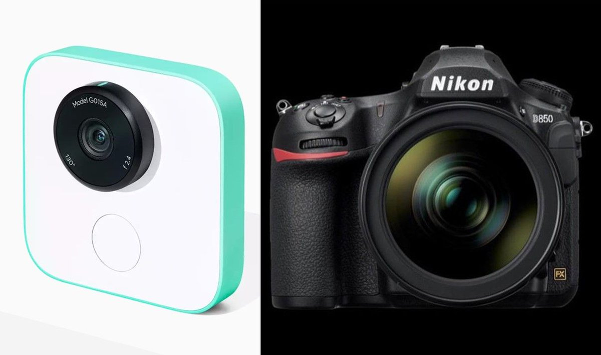 #GoogleClips vs #NikonD850: how automation and experience are shaping the future of content:  https:// buff.ly/2xQdVxH  &nbsp;   #AI #contentstrategy <br>http://pic.twitter.com/IuQfdRSfYS