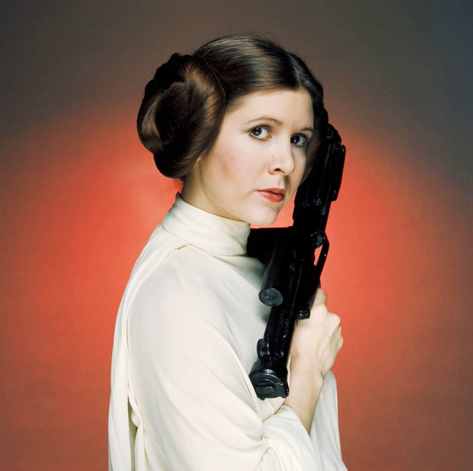 ""\""""Stay afraid, but do it anyway.""""   Today we remember a legendary woman. Happy Birthday, Carrie Fisher!""680|677|?|en|2|db5e0a8eefced2a39f768ecea9a4a900|False|UNLIKELY|0.3328321576118469