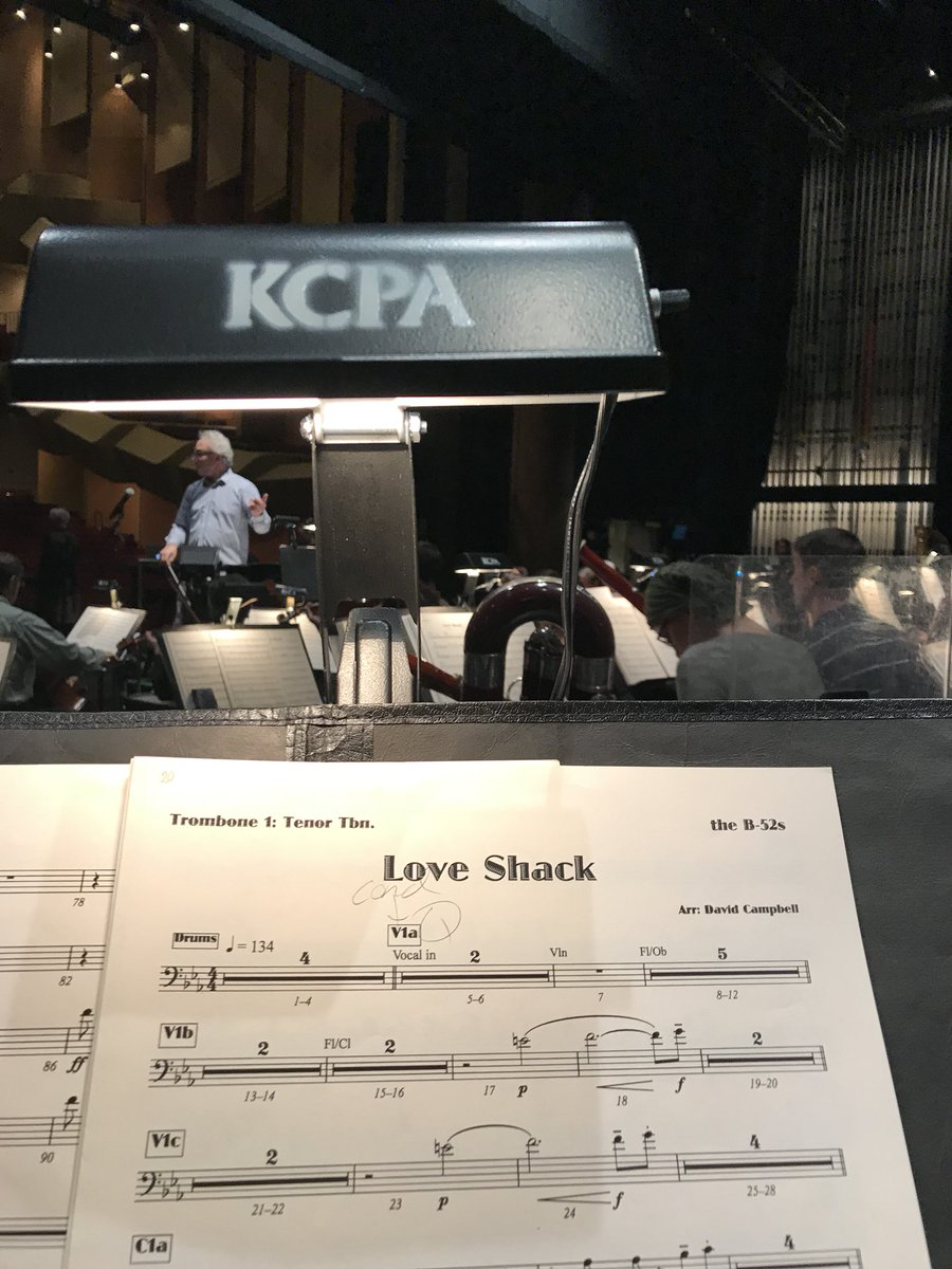Today's gig! #B52s @LouOrch #80sflashback #trombone #brass #pops #lovesshack #orchestra #hits #rocklobster<br>http://pic.twitter.com/Sve09njr6s