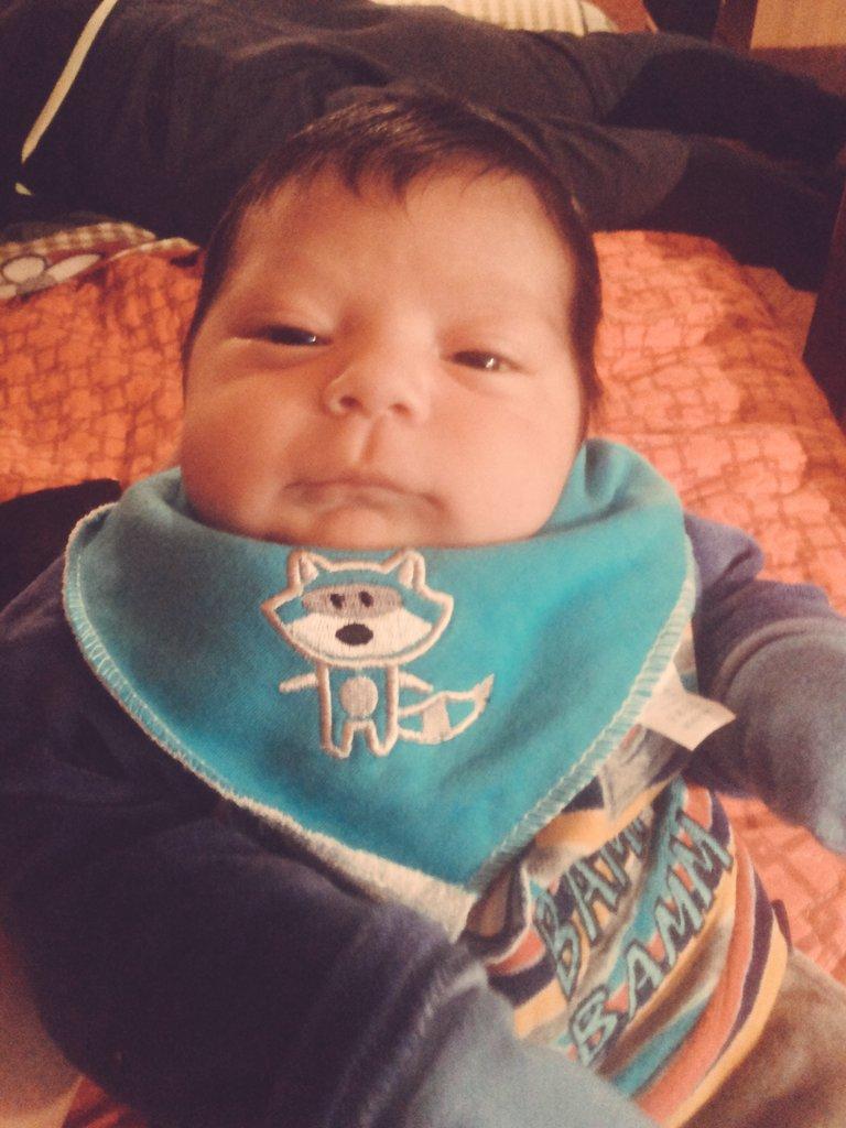 Mi Lindo Bebe Te Amo Mateo #FelizSabado....