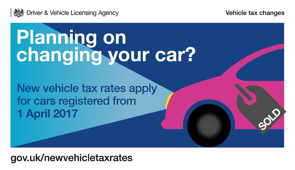 Dvla On Twitter Going Car Shopping Vehicle Tax Rates Changed From