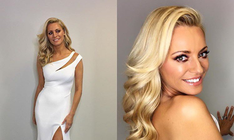 #MakeupArtist @aimee_adams used XIP's 24 Karat Glow Bronzer on cheeks &amp; corners of eyes to create this #Strictly look for  @TessDaly  <br>http://pic.twitter.com/EztsneLv9a
