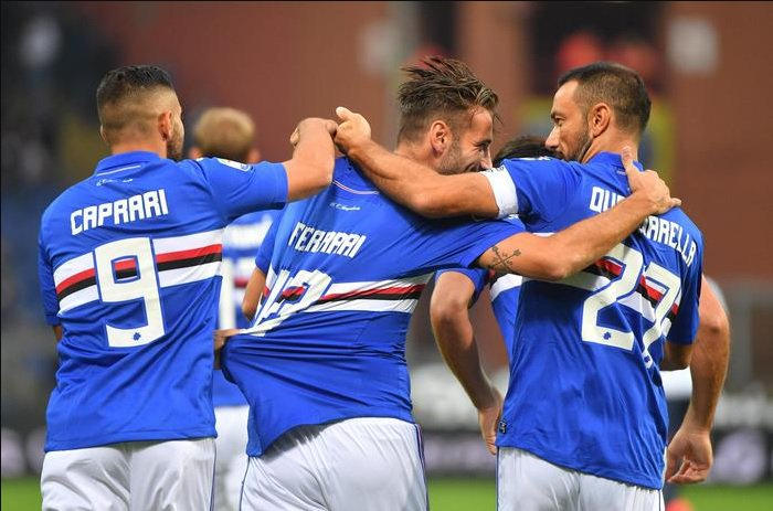 La Sampdoria demolisce il Crotone: 5-0 e -2 dal quarto posto - https://t.co/8UgDmXmOJm #blogsicilianotizie #todaysport