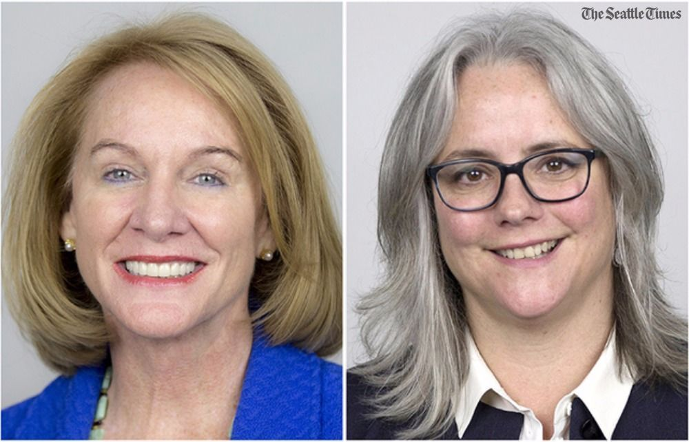 Podcast: The arguments for Seattle mayoral rivals Jenny Durkan and Cary Moon   🔊 Listen at https://t.co/h4WNus3H2U