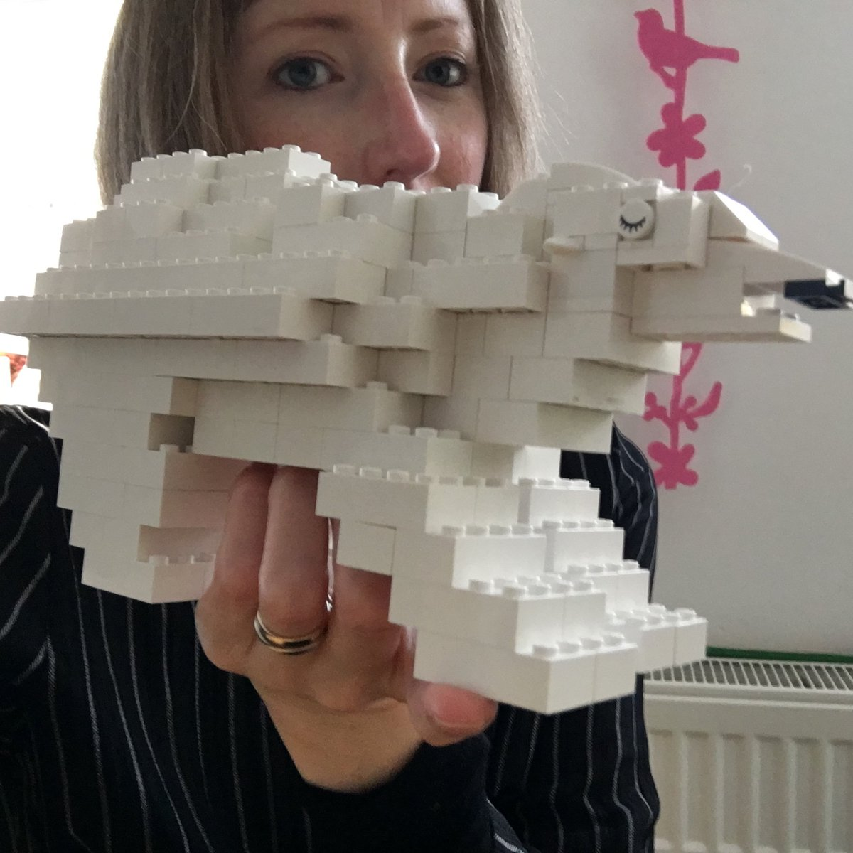 When you take a short break from producing a #climatechange story featuring a #polarbear to have some quality #lego time with your son...<br>http://pic.twitter.com/z7S6Tla98c