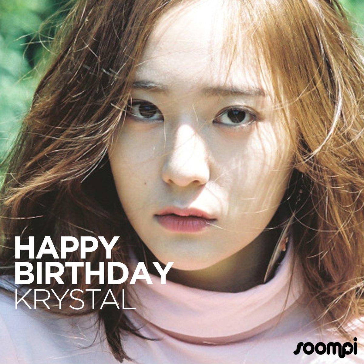 Happy Birthday #f_x's Krystal! #HappyKrystalDay! 🎉  Catch up with her:...
