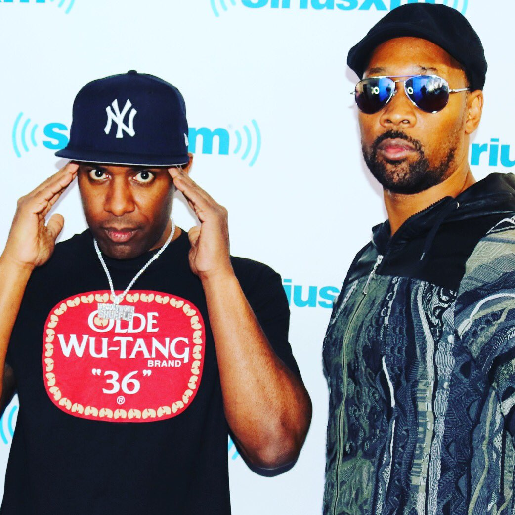 Wutang mix is serious right now with        happy Bday mix     tune in!!