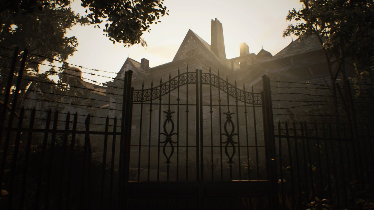If I didn&#39;t know what terrors await me inside, I might think this was a nice place... Honest.   #ResidentEvilVII  #RE7  #PS4<br>http://pic.twitter.com/li3Pqy2Z1C