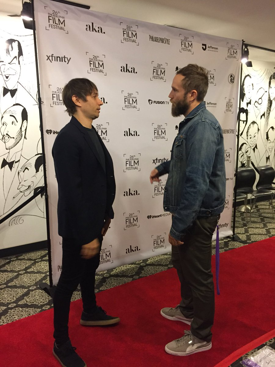 Two of the writer/directors at the Philadelphia Film Festival - Mark Webber and Sean Baker #PFF26 https://t.co/IzU6DL2KIZ