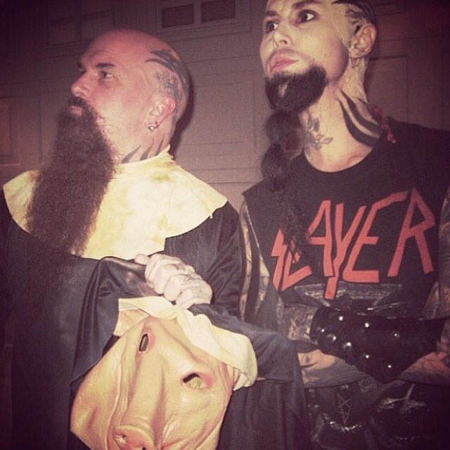 I mean, how will I ever top that one time I was Kerry King for Halloween? #slayer https://t.co/hGncMhZYTK