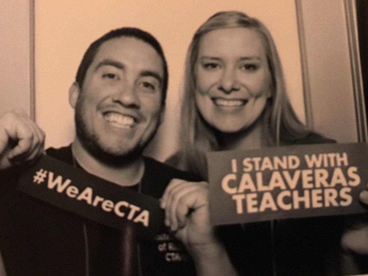 At @WeAreCTA State Council! We stand with @cueavoice #wearecta #UTR #solidarity #contractNOW #Calaverasteachersstrike<br>http://pic.twitter.com/COIuBNNxm5