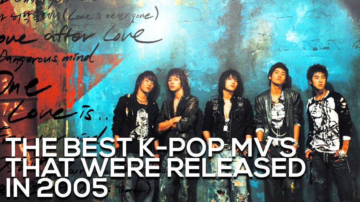 The Best K-Pop MV's that were released i...