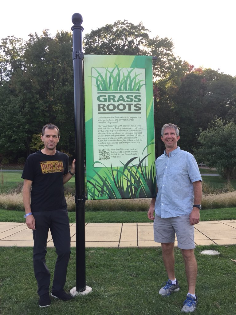Interesting and beautiful day with personal tour of #GrassRoots Exhibit at #NationalArboretum @Grass_Roots_NTF @kmorris_NTEP<br>http://pic.twitter.com/Zs6y8gOVe4