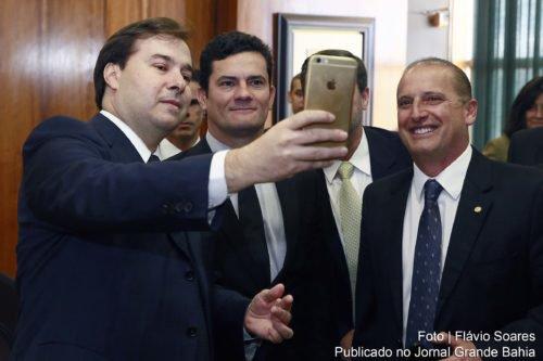 Rodrigo maia o botafogo da Odebrecht e o Juiz Sergio Moro que investiga só um partido